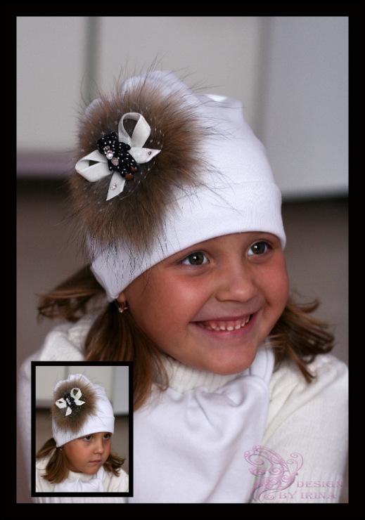 Сбор заказов. По просьбам участников! Ваша дочка не останется без внимания-15! Шапочки и повязки с цветами для дочки и мамы! Зимние шапки с помпонами из меха! Море новинок! А также модные шапочки для мальчиков!! Галерея.