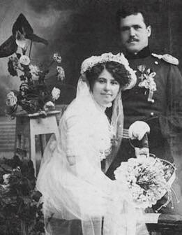 Женитьба офицера в царской России.
