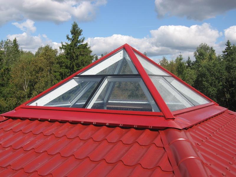 Купольная стеклянная крыша
