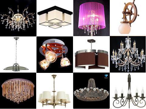 Гипермаркет светильников Eвросвет - 9. Люстры, бра, торшеры, настольные лампы, подвесные светильники. Всё, от бюджетных моделей до хрусталя