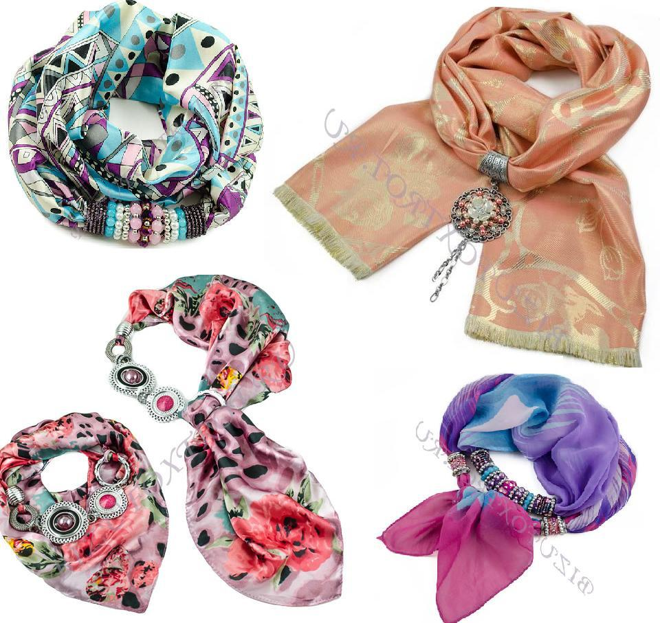 Сбор заказов.Изысканные шарфы, косынки, платки с украшениями из Чехии, а также бижутерия из чешского стекла -будьте неотразимы-6!