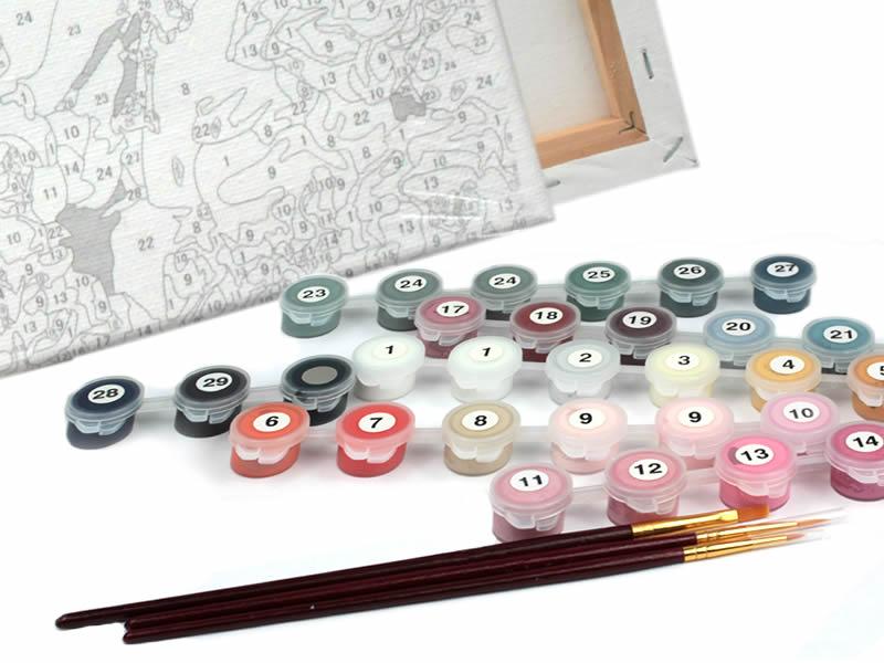 Белоснежка. Наборы для вышивания, живописи по номерам на холсте, создания картин круглыми и квадратными стразами, а так