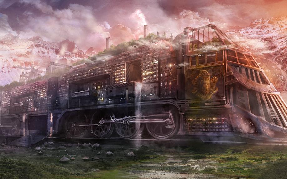Твой поезд ушел, целуй рельсы. (с)