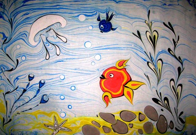 Рекомендую: Сбор заказов. Эбру - Волшебство рисунка на воде -сентябрь/2015