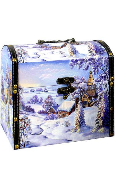 Новогодняя упаковка для сладких подарков!)