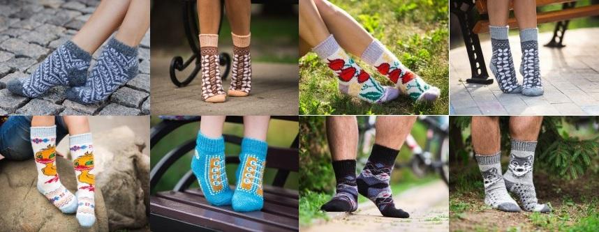 Сбор заказов. Бабушкины носки-6. Шерстяные красивые носочки, следки, гольфы для всей семьи! Без рядов.