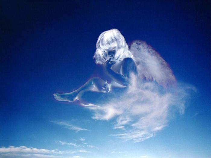 Обними меня своим крылом белым.