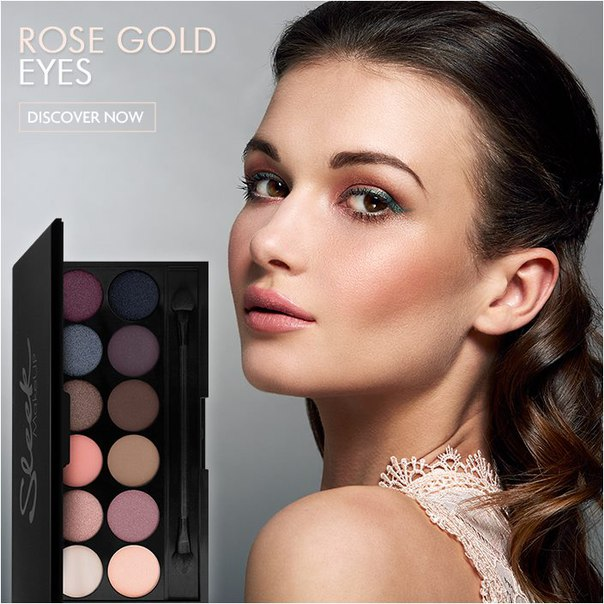 Сбор заказов. Профессиональная декоративная косметика из Британии sleek make up- прекрасное соотношение цены и