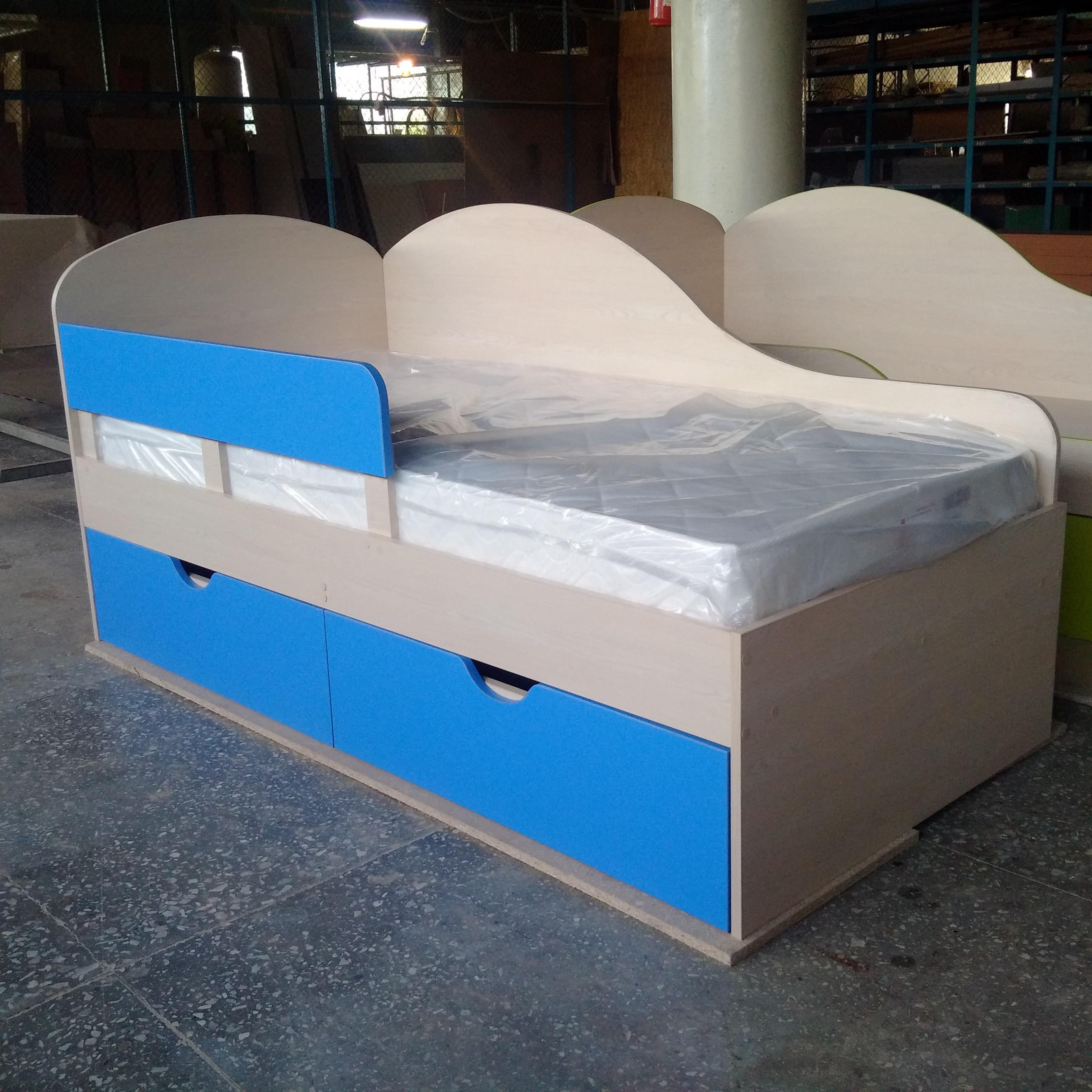 Кровати детские с ящиками. От производителя. 6000 руб.