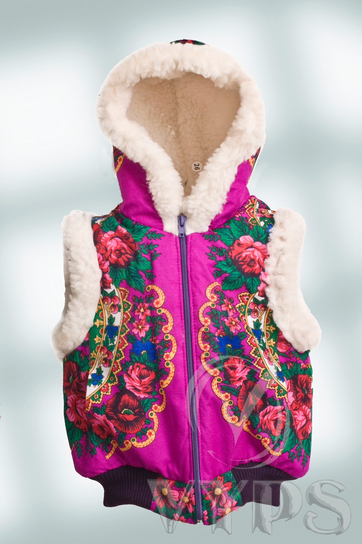 Сбор заказов. Жилетки и куртки на овчине, для девчонок и мальчишек. Цены от 600 руб. Без рядов.