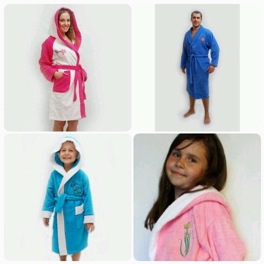 Сбор заказов. Всем известный Восток НН. Махровые халаты для всей семьи. Школьные жилеты и кардиганы. Джемпера, пледы, полотенца, наборы для сауны.