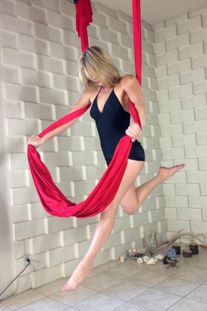 Воздушная йога - высокое качество жизни