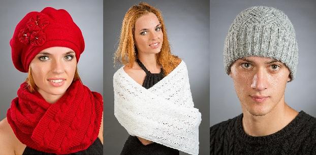 Красивущие женские береты с объемными цветами. Есть немного шапок для мужчин - 2.