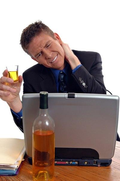 Россияне снимают стресс алкоголем
