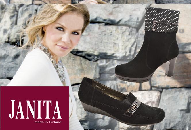 Финская обувь, Janita. Зимние модели прошлых сезонов (распродажа 70