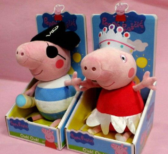 Добавила мягкие игрушки Пеппа и ее друзья в сбор