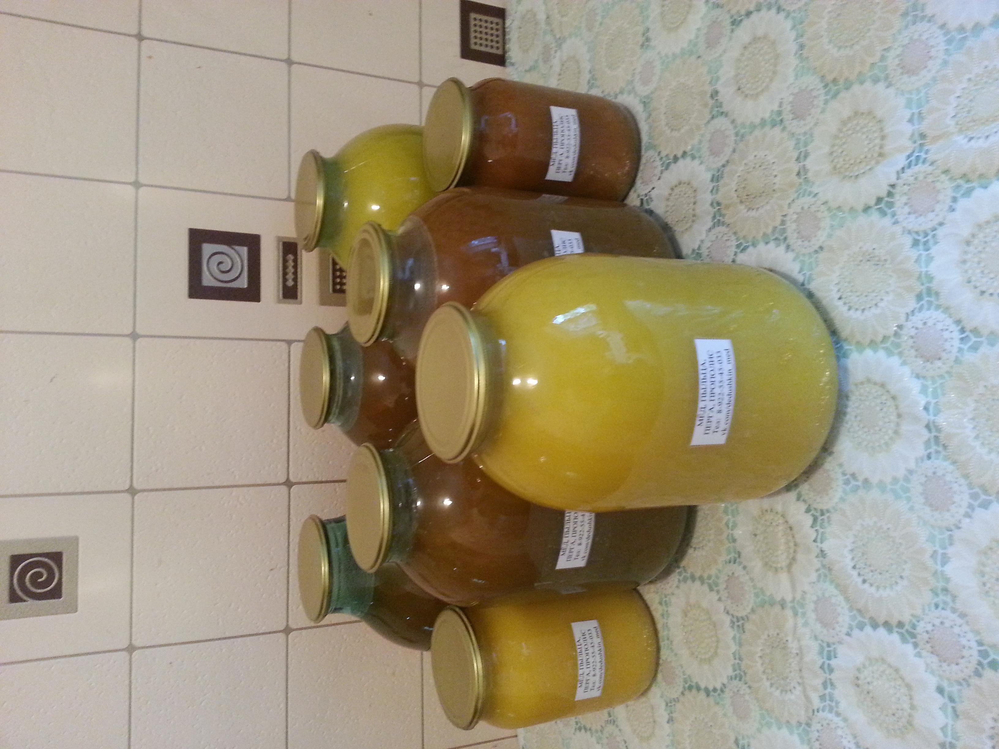 Мёд, пыльца, перга, прополис