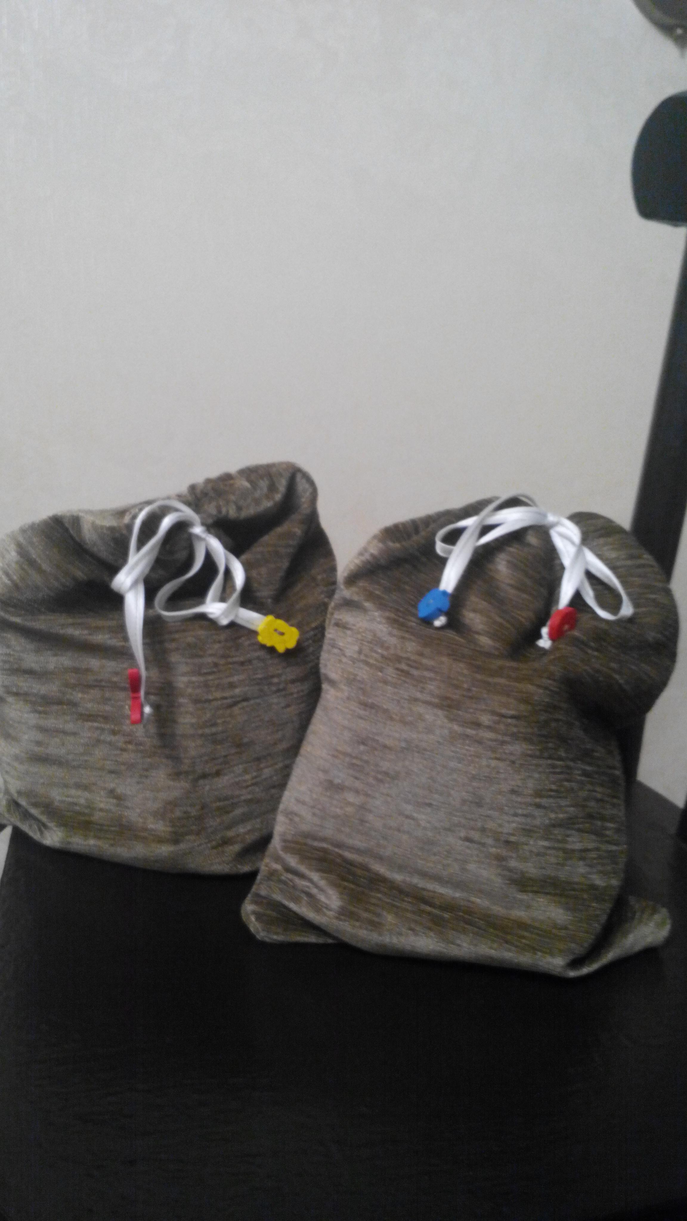 Мешочки для мобильного стульчика Аля тотсит