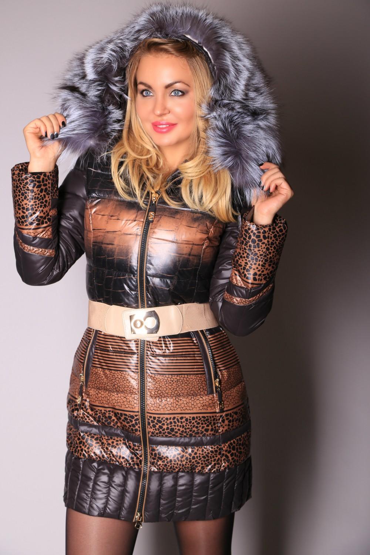 УТЕПЛЯЕМСЯ!!!!! Огромный выбор курток для Вас! На фото пух с мехом чернобурки!!!