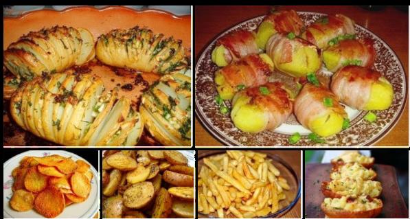 8 вкусных рецептов из картофеля