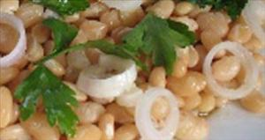 Салат с лимской фасолью