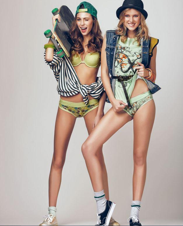 Яркие гламурные трусики L0vely Girl (Италия) - только хлопок и модал. Нижнее белье и бельевые аксессуары (бретели