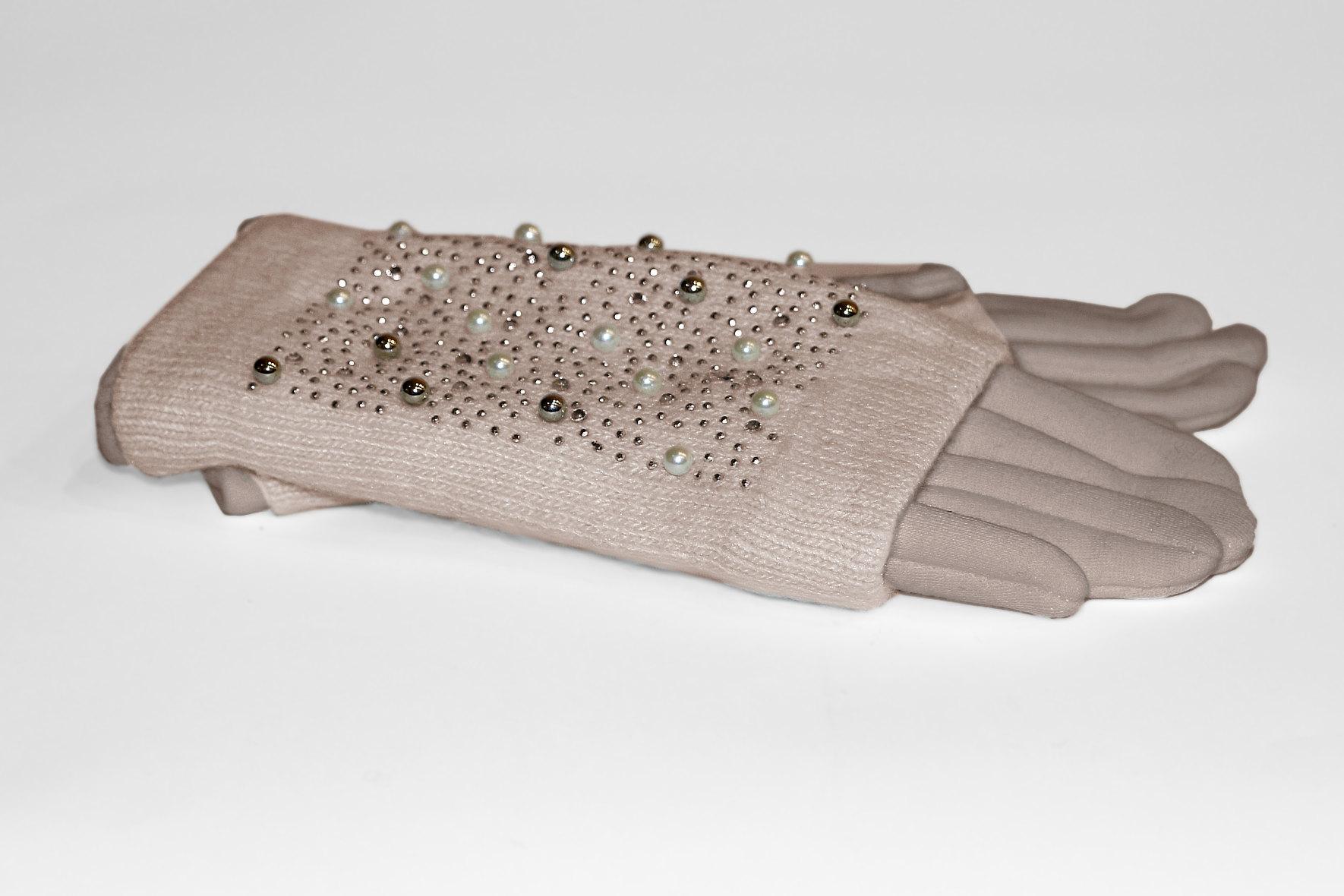 Вязанные и трикотажные женские перчатки на утепленной основе. Без рядов! Все ЦР! Выкуп 5