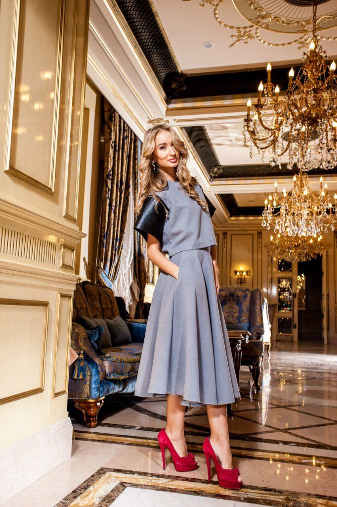 Модный бренд Липинская. Коллекция модной элегантной одежды