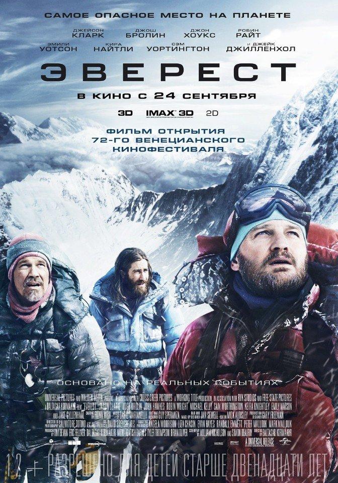 Описание фильма: Эверест (2015)