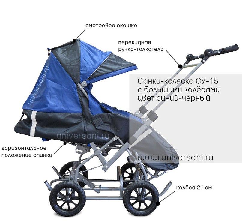 Универсани и санки-коляски. Новая модель СУ-15!