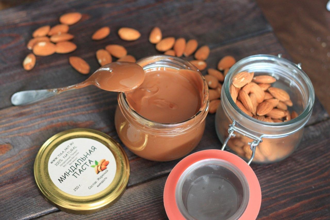 Сбор заказов. Натуральные ореховые пасты без добавок! Арахис, миндаль, фундук и кешью - только вкус и польза!