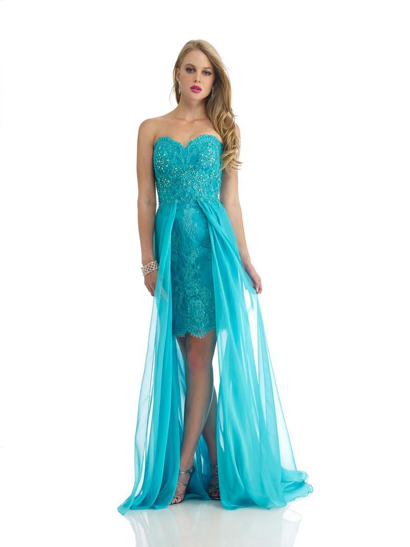 Вечерние платья голубого цвета