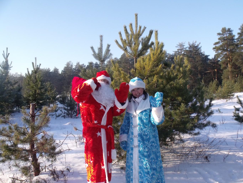 Настоящие Дед Мороз и Снегурочка!!!))