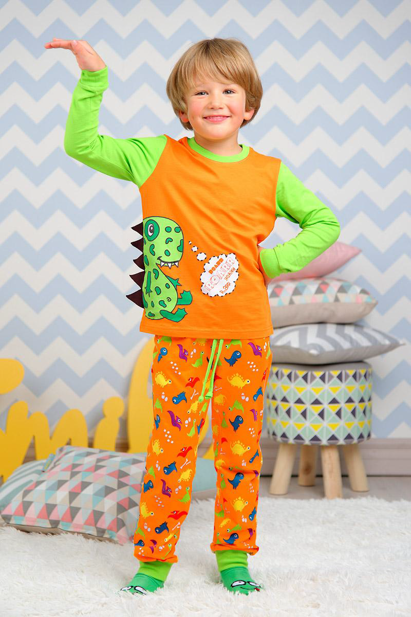 Пижaмки для мальчиков и девочек Kitfox! Добавила красотищу в тему