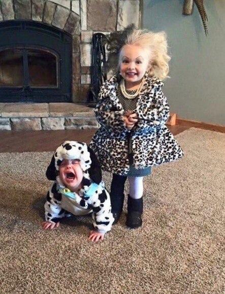 Возможно один из самых милых костюмов на Хэллоуин