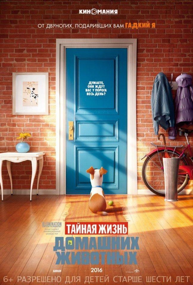 Описание фильма: Тайная жизнь домашних животных (2016)