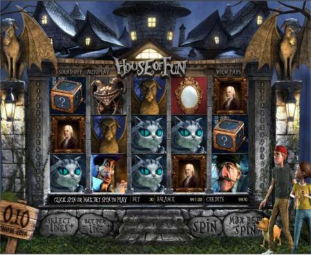 гровий автомат Старий Будинок Будинок веселощв грати безкоштовно без рестрац та смс