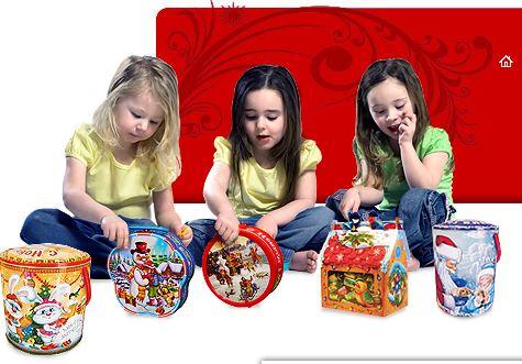 Сладкие новогодние подарки! Огромный выбор. Цены от 150 рублей. Лучшие кондитерские фабрики.