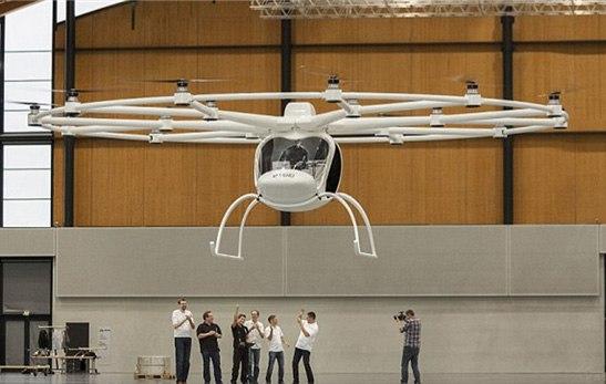 Немецкие конструкторы создали летающий волокоптер
