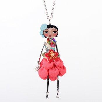 Яркая и стильная бижутерия; украшения ручной работы подвески - куклы. Эксклюзив. Цены от 120р.