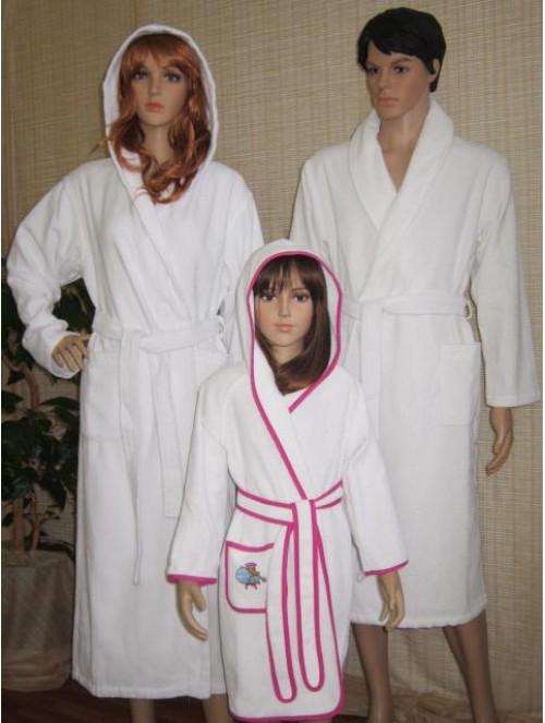 Сбор заказов Вафельные, бамбуковые и махровые простыни, полотенца, халаты (мужские, женские, детские), скатерти, шторы, салфетки, уголки, пончо (детские), сарафаны и чалмы для сауны от производителя - 2