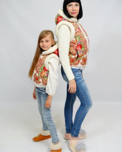 Сбор заказов. Жилеты и куртки Матрешка, для девчонок и мальчишек. Готовим теплые и красивые подарки к Новому Году, цены