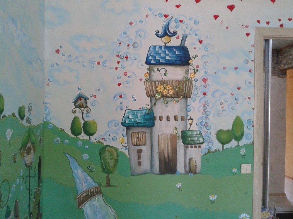 роспись стен, потолка, барельеф, декоративная штукатурка, мозаика, художественное оформление интерьра