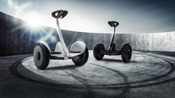 Xiaomi представила самобалансирующийся скутер Ninebot mini, который управляется дистанционно с помощью смартфона