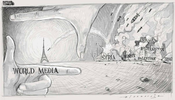 Мировые СМИ в свете последних событий.