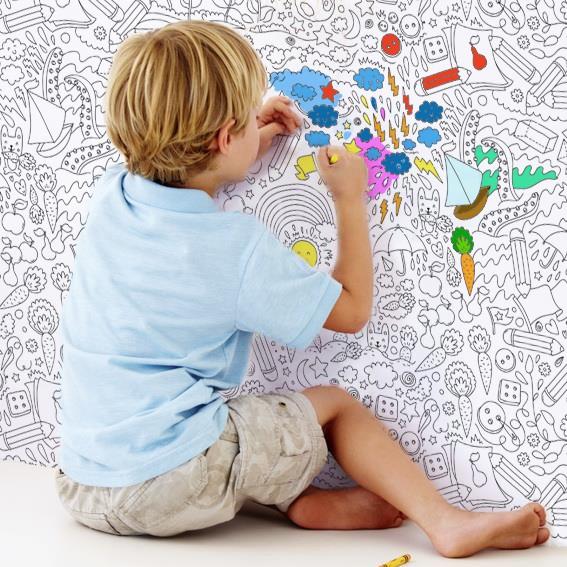 Сбор заказов. На обоях теперь можно рисовать! Обои-раскраски, плакаты-раскраски для детей и взрослых. Дети в восторге. Сбор 1