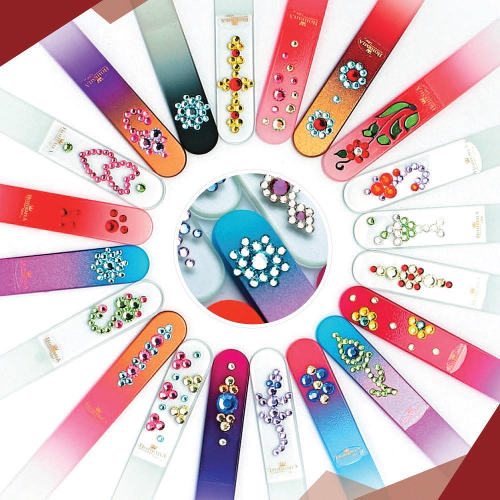 Сбор заказов. Отличный вариант подарка! B_o_h_e_m_i_a - Чешские пилочки из богемского стекла с кристаллами Swarovski