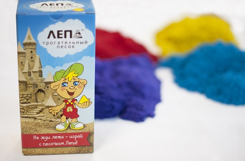 Цветной песок от Лепы!