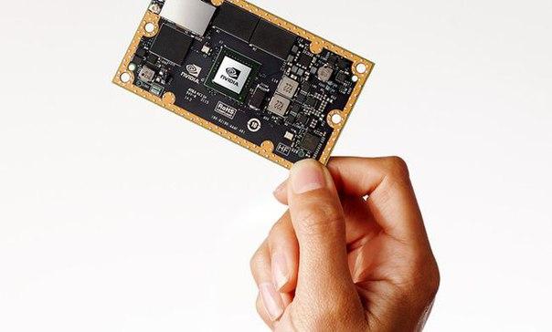 Nvidia представила суперкомпьютер размером с пластиковую карту