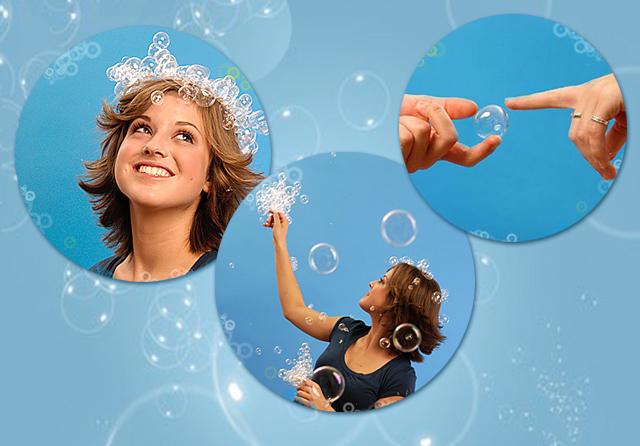 Нелопающиеся мыльные пузыри! Отличный подарок ребенку! Классный аксессуар для фотосессий!Сбор 5